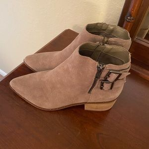 Bleecker & Bond suede ankle boots